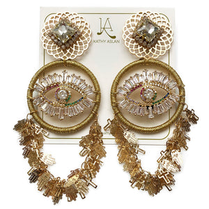 Gatsby Gold Earrings