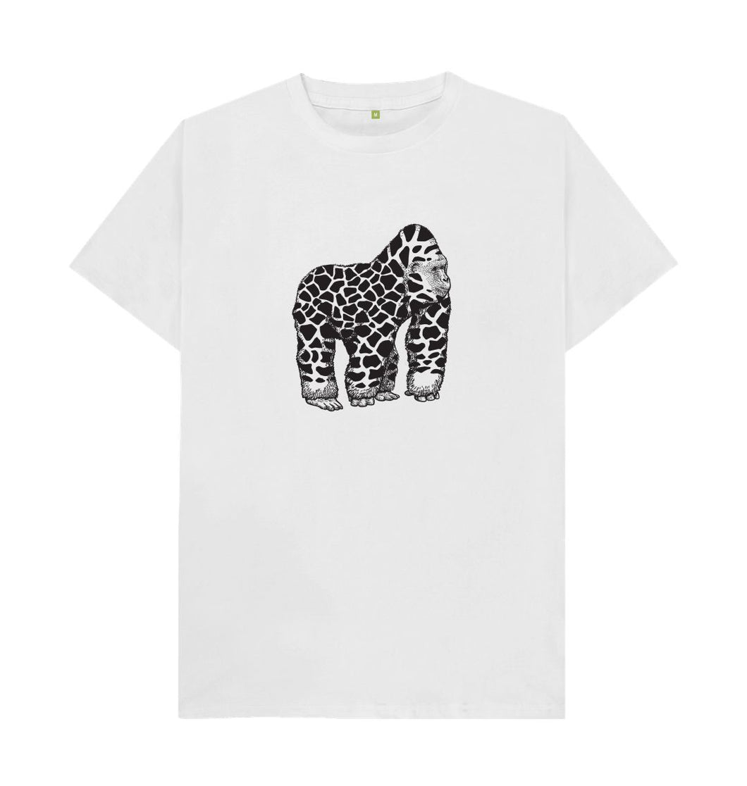 White Two Keys Gorilla T-shirt