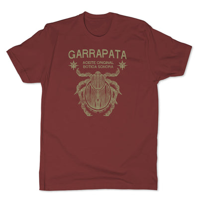 Botica-Sonora-Garrapata-Love-Spell-Mens-T-Shirt-Red