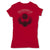 Botica-Sonora-Escarabajo-Good-Luck-Womens-T-Shirt-Red