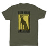 Botica-Sonora-Gato-Negro-Good-Luck-Mens-T-Shirt-Green