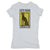 Botica-Sonora-Gato-Negro-Good-Luck-Womens-T-Shirt-Grey