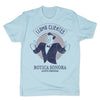 Botica-Sonora-Llama-Clientes-White-Magic-Mens-T-Shirt-Blue