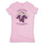 Botica-Sonora-Llama-Clientes-White-Magic-Womens-T-Shirt-Pink