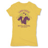 Botica-Sonora-Llama-Clientes-White-Magic-Womens-T-Shirt-Yellow