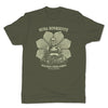 Botica-Sonora-Buddha-Suerte-Good-Luck-Mens-T-Shirt-Green