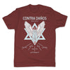 Botica-Sonora-Contra-Danos-Protection-Mens-T-Shirt-Red