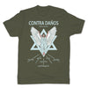 Botica-Sonora-Contra-Danos-Protection-Mens-T-Shirt-Green