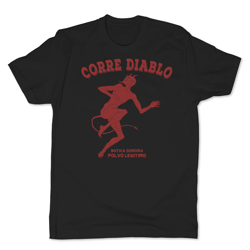 Botica-Sonora-Corre-Diablo-Protection-Mens-T-Shirt-Black