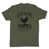 Botica-Sonora-Gallina-Negra-Protection-Mens-T-Shirt-Green