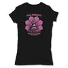 Botica-Sonora-Buddha-Good-Luck-Womens-T-Shirt-Black