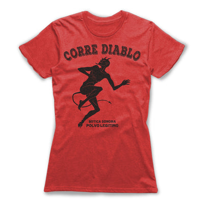 Corre-Diable-Protection-Spells-Women-T-Shirt-Red