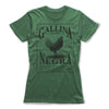 Gallina-Negra-Protection-Spells-Women-T-Shirt-Green