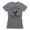 Gallina-Negra-Protection-Spells-Women-T-Shirt-Grey
