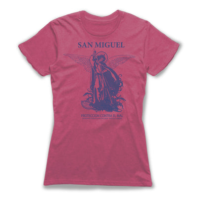 San-Miguel-Protection-Spells-Women-T-Shirt-Berry
