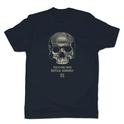 Botica-Sonora-Polvo-Del-Odio-Black-Magic-Mens-T-Shirt-Blue