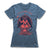 Polvo-Del-Odio-Separador-Black-Magic-Women-T-Shirt-Blue
