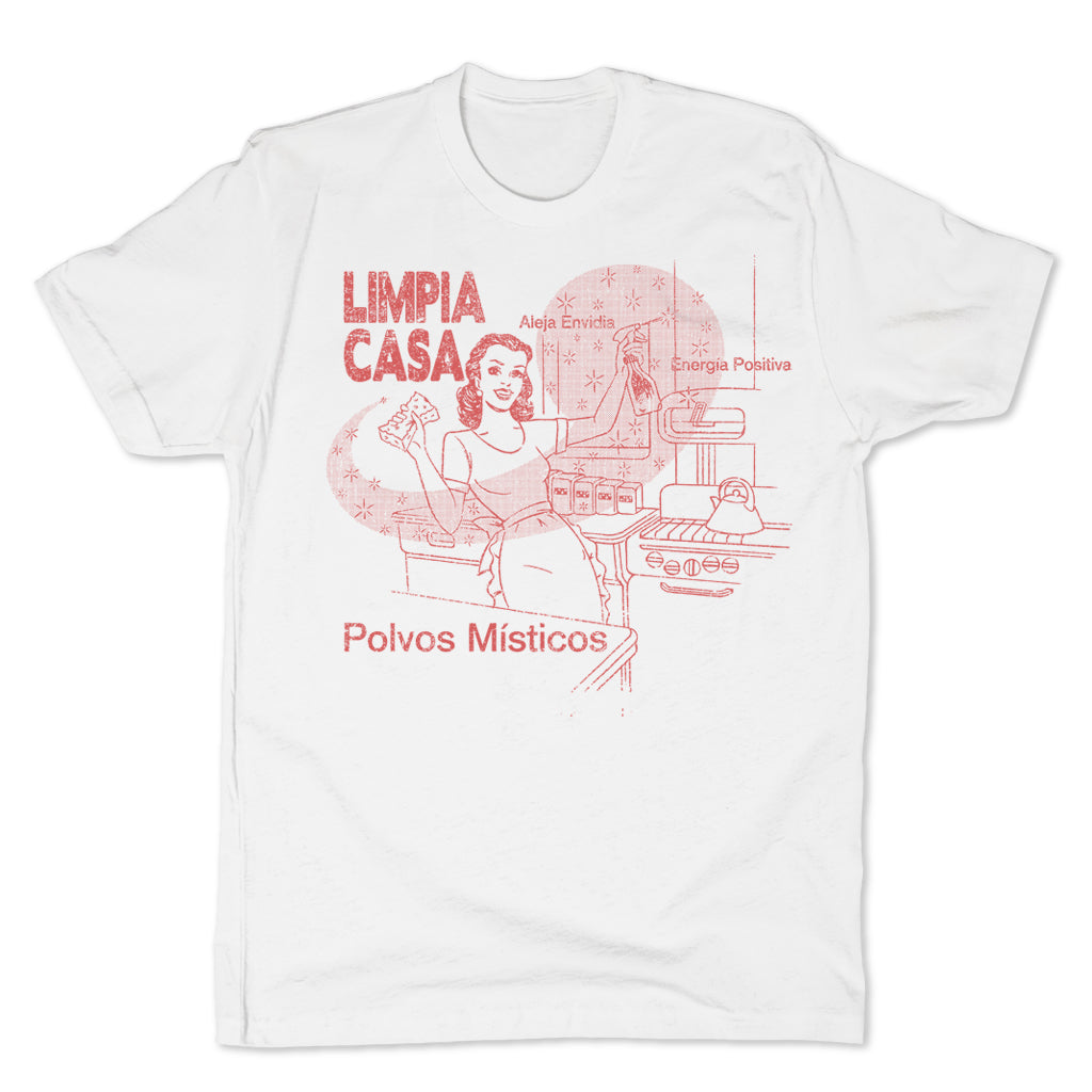 Botica-Sonora-Limpia-Casa-White-Magic-Mens-T-Shirt-White