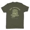 Botica-Sonora-Rey-Salomon-White-Magic-Mens-T-Shirt-Green