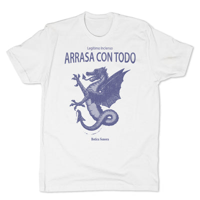Botica-Sonora-Arrasa-Con-Todo-Conjuros-White-Magic-Mens-T-Shirt-White