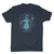 Botica-Sonora-Santo-Nino-De-Atocha-White-Magic-Mens-T-Shirt-Blue