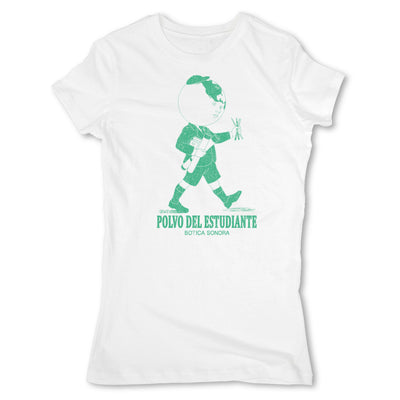 Botica-Sonora-Polvo-Del-Estudiante-White-Magic-Womens-T-Shirt-White