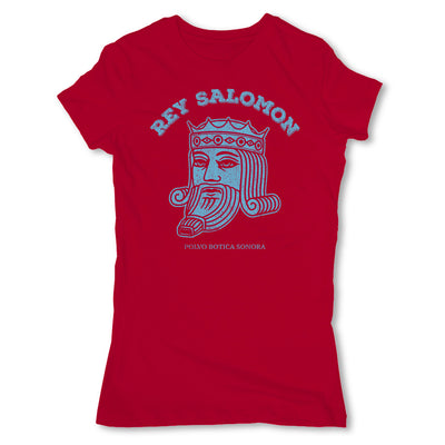 Botica-Sonora-Rey-Salomon-White-Magic-Womens-T-Shirt-Red