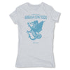 Botica-Sonora-Arrasa-Con-Todo-White-Magic-Womens-T-Shirt-Grey