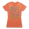 7-Gotas-De-Amor-Love-Spell-Women-T-Shirt-Orange
