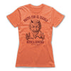 Pacto-Con-El-Diablo-Black-Magic-Women-T-Shirt-Orange