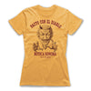 Pacto-Con-El-Diablo-Black-Magic-Women-T-Shirt-Yellow