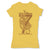 Botica-Sonora-Siete-Viboras-Protection-Spell-Womens-T-Shirt-Yellow
