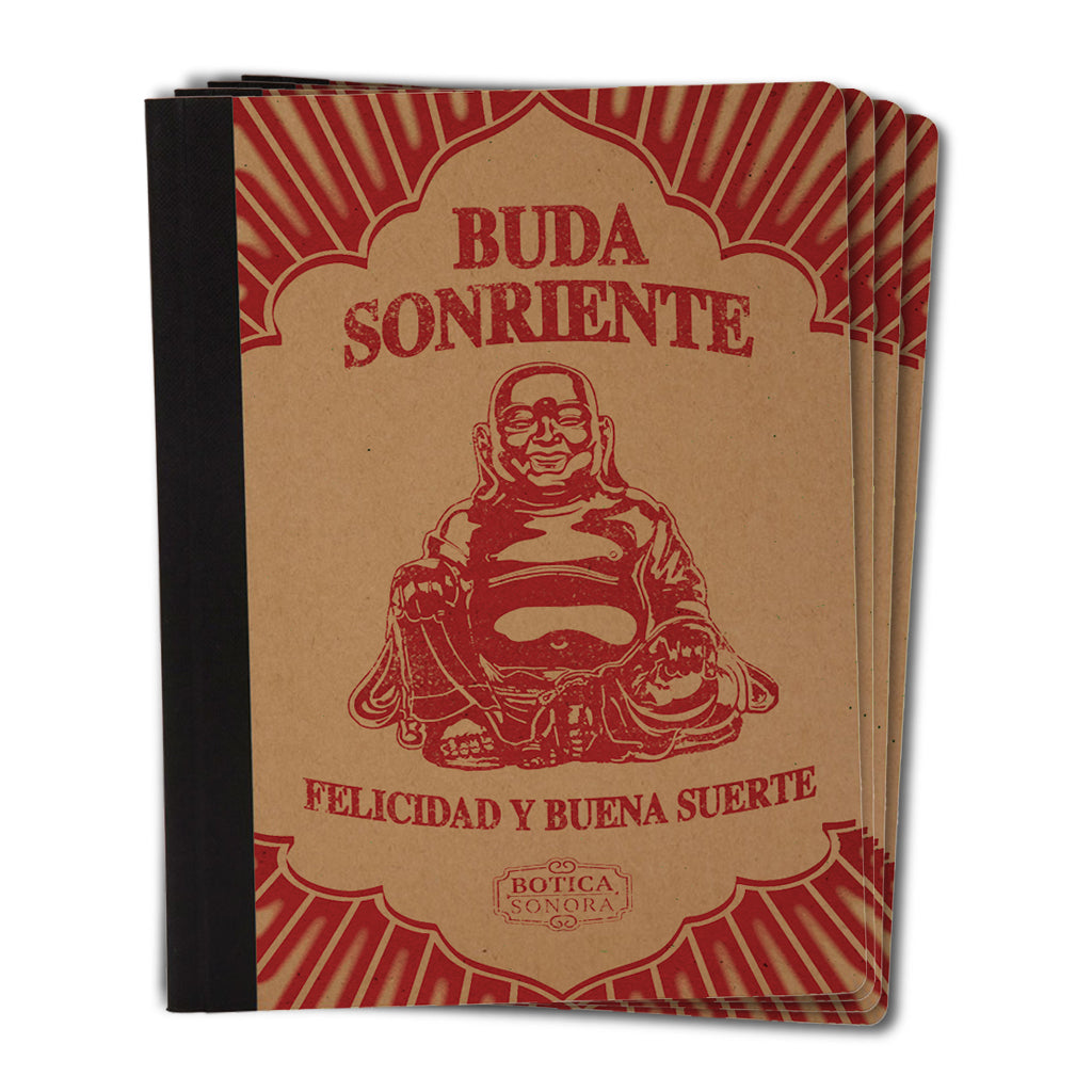Botica-Sonora-Buda-Sonriente-Suerte-Good-Luck-Notebook