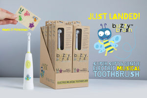 Jack N' Jill Buzzy Brush Kids Electric Musical Toothbrush