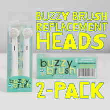 Load image into Gallery viewer, Jack N' Jill Buzzy Brush - 2 Replacement Heads for Electric Toothbrush