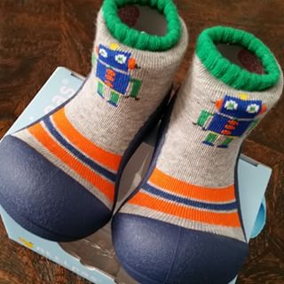 2 in 1 Attipas Sock Shoes (Robot)