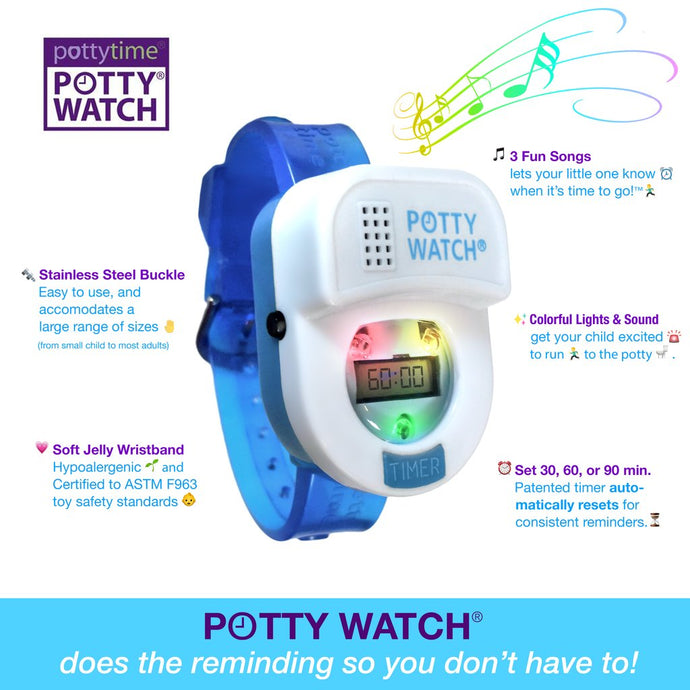 Potty Time Potty Watch Toilet Training Timer