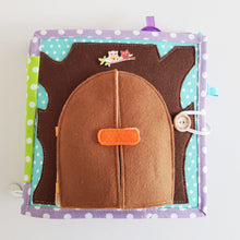 Load image into Gallery viewer, Handmade Quiet Book/ Busy Book - Bear House