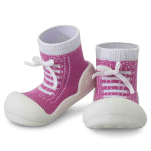 2 in 1 Attipas baby/toddler sock shoes