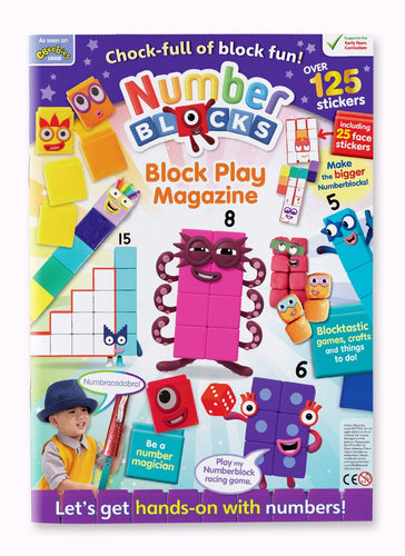 Block Play Magazine (Activities for Numberblock 1-10 toys)