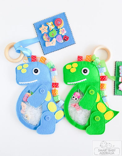 ISpy Bag Travel Toy Busy Sensory Toy - Dinosaur