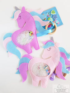 ISpy Bag Travel Toy Busy Sensory Toy - Unicorn