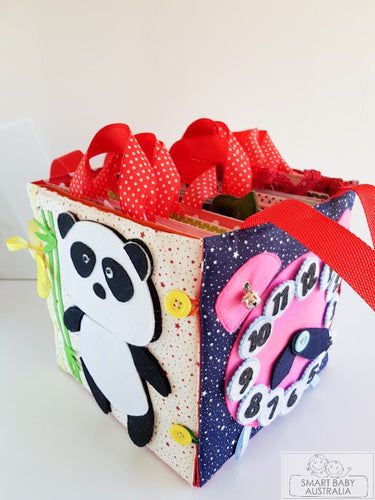 Handmade Quiet/ Busy Box Bag - kids activities