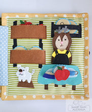 Load image into Gallery viewer, Busy Book / Quiet Book /Travel Toy - Animal Doll House