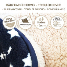 Load image into Gallery viewer, Kurumi Ket - Winter Baby Carrier Cover/ Stroller Cover/ Nursing Cover