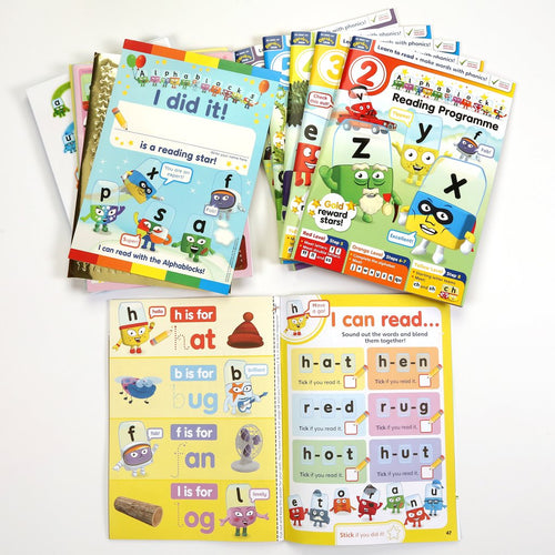 Alphablocks Reading Programme - Learn Phonics/ Learn How To Read