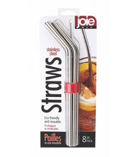 Load image into Gallery viewer, MSC Joie Stainless Steel Straw Set