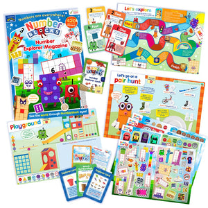 Numberblocks Explorer Pack
