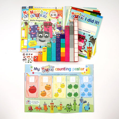 Numberblocks Maths Programme/ Learn Math and Numbers