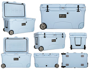 100 Litre with Wheels Sky Blue Esky Cooler